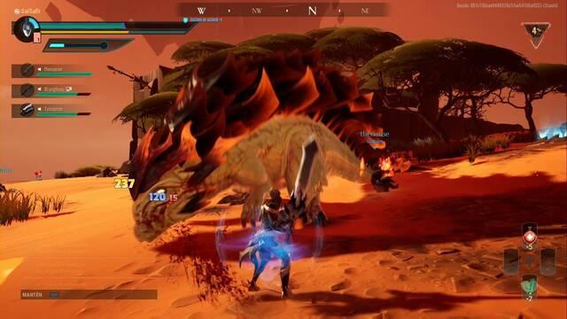 Hellion Roca Ardiente en Dauntless: cómo matarlo fácilmente y recompensas