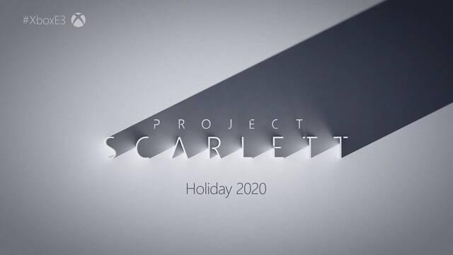 """Xbox """"Project Scarlett"""" se lanza en navidades de 2020 con xCloud, 120 FPS, 8K, Raytracing..."""