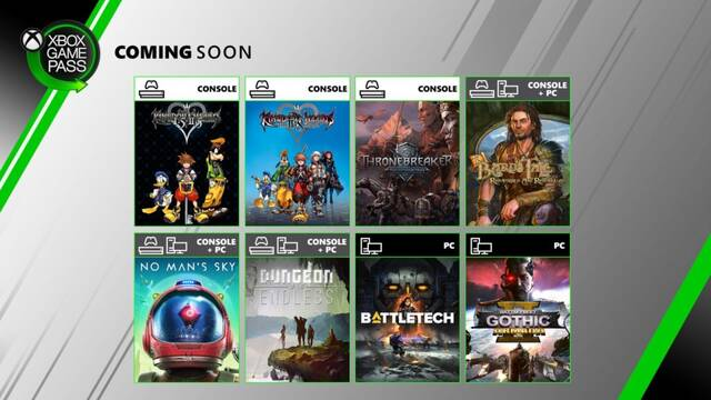 Juegos de junio para Xbox Game Pass.