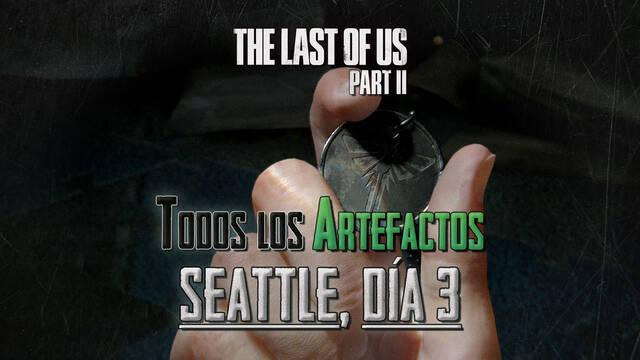 TODOS los artefactos de Seattle, día 3 en The Last of Us 2