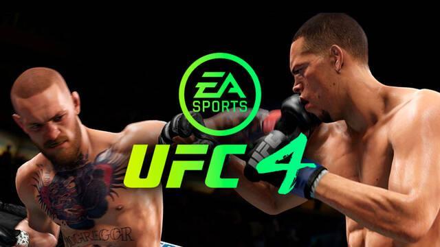 EA Sports UFC 4 se filtra en PS4