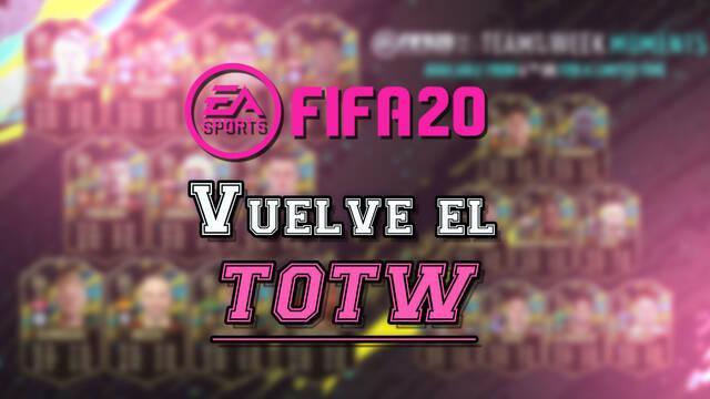 FIFA 20: EA confirma el regreso de los TOTW este mes de junio