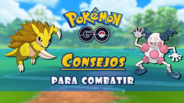 Consejos para combatir contra otros Pokémon en Pokémon Go