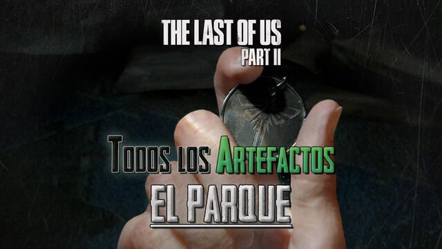 TODOS los artefactos de El parque en The Last of Us 2