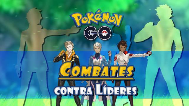 Combates contra Líderes de Equipo en Pokémon Go: Recompensas y consejos