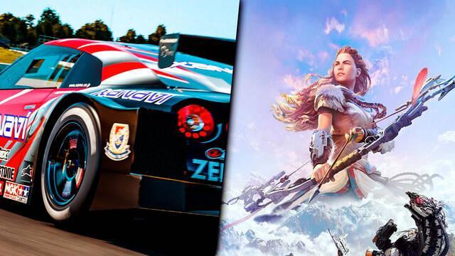 Horizon: Zero Dawn 2 y Gran Turismo 7 en PS5