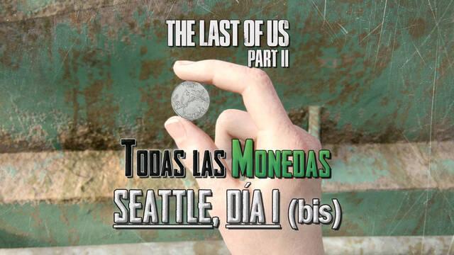 TODAS las monedas de Seattle, día 1 (Abby) en The Last of Us 2