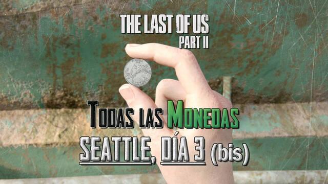 TODAS las monedas de Seattle, día 3 (Abby) en The Last of Us 2