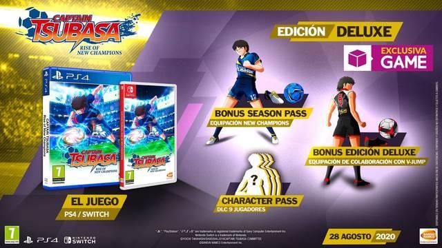 GAME presenta su exclusiva Edición Deluxe de Captain Tsubasa: Rise of New Champions.
