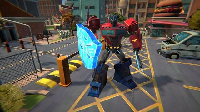 Así es Transformers: Battlegrounds, el nuevo juego familiar de Bandai Namco.
