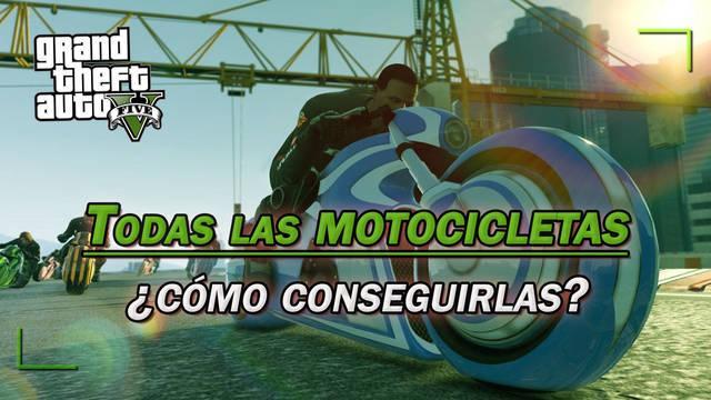 TODAS las motos de GTA 5 y ¿cómo conseguirlas?