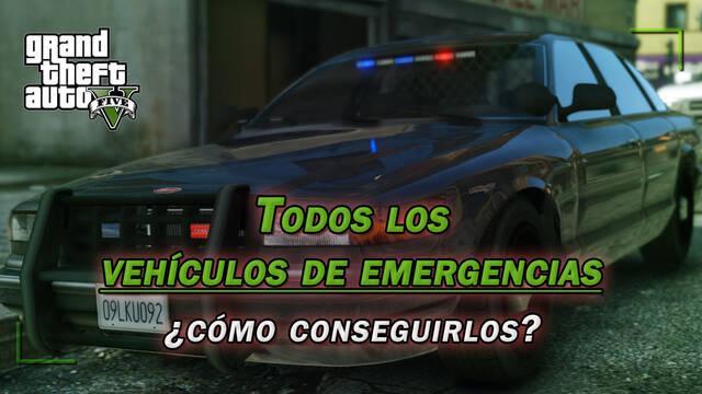 TODOS los vehículos de emergencias de GTA 5 y ¿cómo conseguirlos?