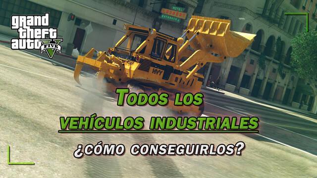 TODOS los vehículos industriales de GTA 5 y ¿cómo conseguirlos? - (2020)