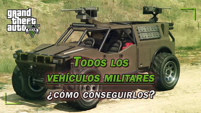 TODOS los vehículos militares de GTA 5 y ¿cómo conseguirlos? - (2020)