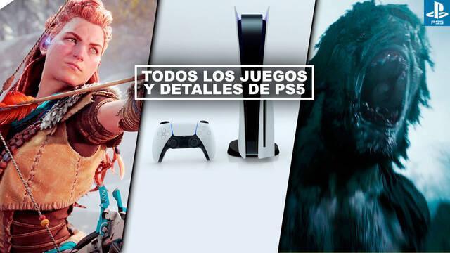 PS5 evento resumen todos los juegos