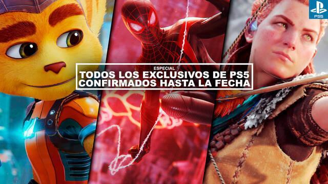 Todos los exclusivos de PS5 confirmados hasta la fecha