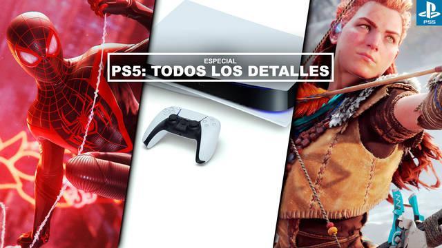 PS5: Precio, fecha, juegos de lanzamiento y todos los detalles