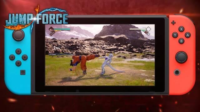 JUMP Force ya tiene fecha de lanzamiento en Switch: 28 de agosto.
