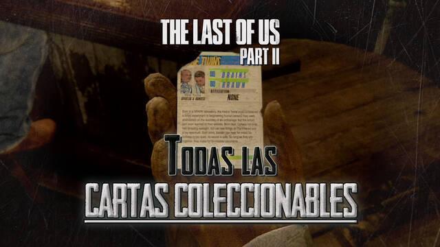 TODAS las cartas coleccionables de The Last of Us 2 y cómo conseguirlas