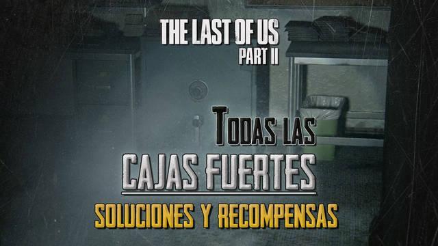 TODAS las cajas fuertes de The Last of Us 2: Ubicación, códigos y recompensas