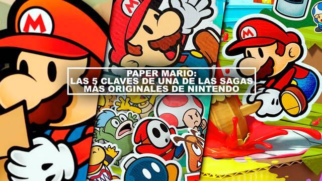 Paper Mario: Las 5 claves de una de las sagas más originales de Nintendo