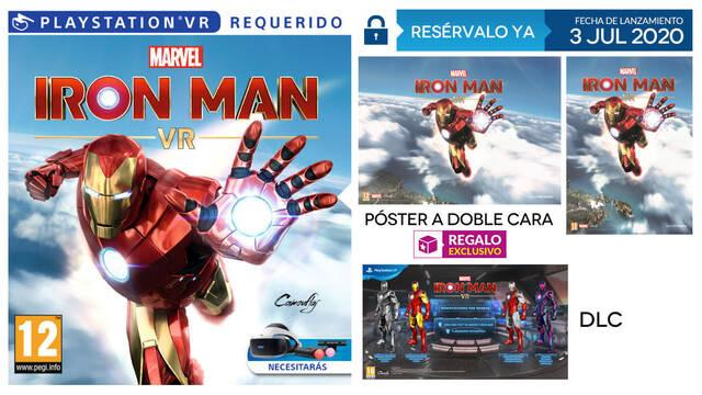 Iron Man VR y su reserva en GAME