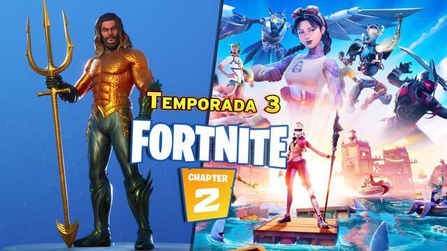 Fortnite: Todas las nuevas skins y recompensas de la Temporada 3