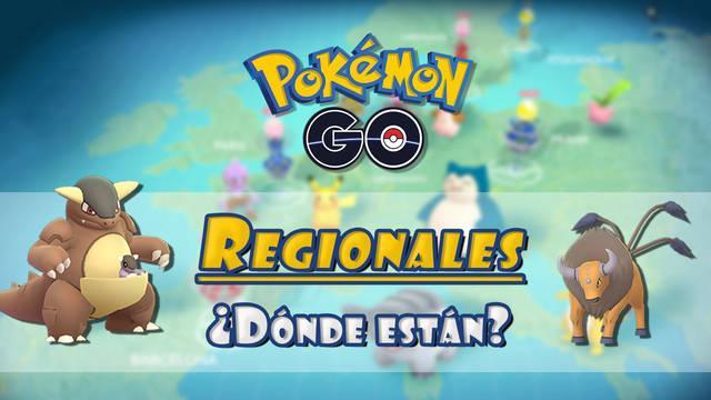 Pokémon GO: TODOS los Pokémon regionales o exclusivos por continente