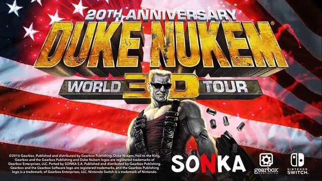 Duke Nukem 3D: 20th Anniversary World Tour llega a Switch