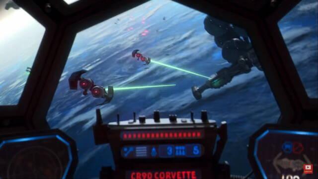 El director creativo de Star Wars: Squadrons confirma que será compatible con HOTAS.