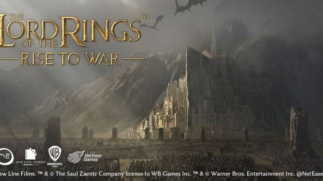 Anuncio de Lord of the Rings: Rise to War