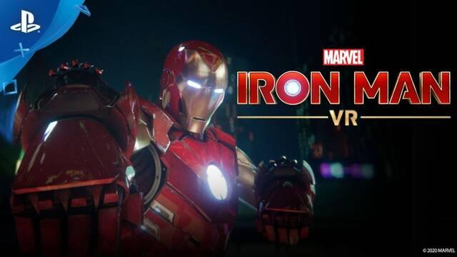 Iron Man VR estrena tráiler cinemático de lanzamiento.