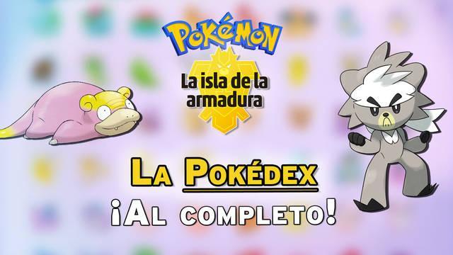 Pokédex de la Isla Armadura: Todos los Pokémon y cómo conseguirlos