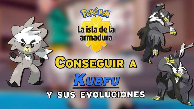 Cómo conseguir a Kubfu y sus dos evoluciones en la Isla de la Armadura