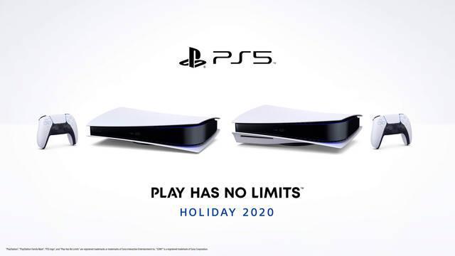 PS5 dos modelos en horizontal