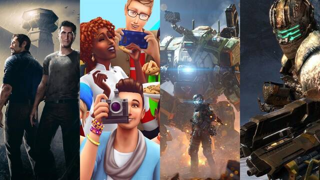 Seis nuevos juegos de Electronic Arts en Steam.