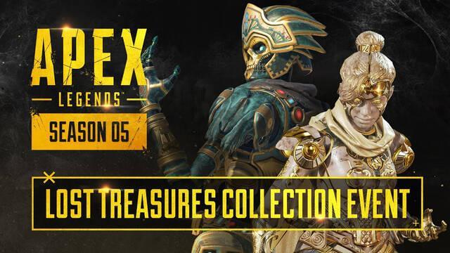 Apex Legends: Nuevo evento de colección de Tesoros Perdidos este 23 de junio