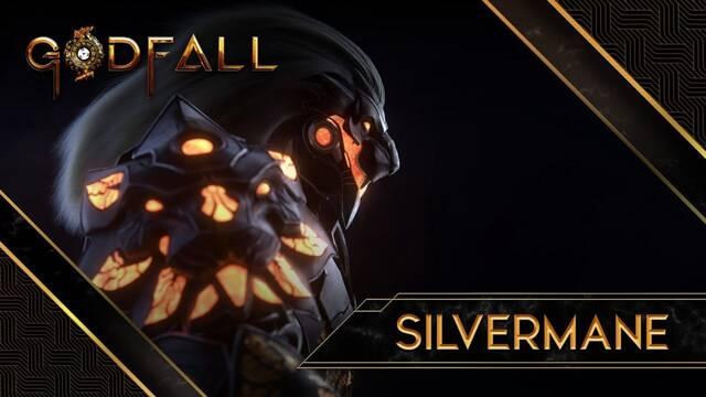 Así es Silvermane, uno de los protagonistas de Godfall.