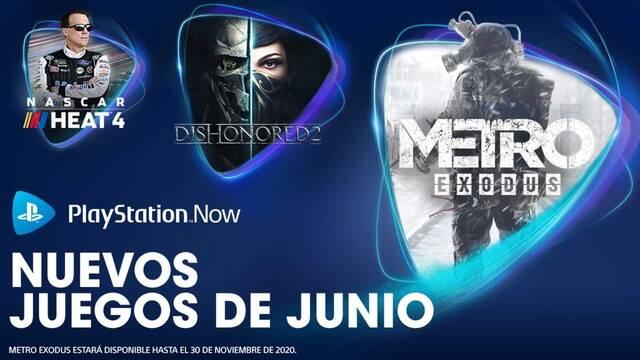 Nuevos juegos de PS Now de junio 2020.
