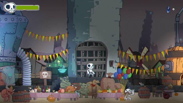 Skelattack, el plataformas de Konami, ya se puede jugar en PS4, PC, Xbox One y Switch.