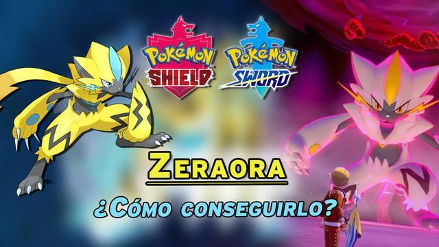 ¿Cómo conseguir a Zeraora Shiny en Pokémon Espada y Escudo? Requisitos