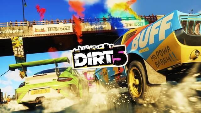 Dirt 5 y los gatillos de DualSense