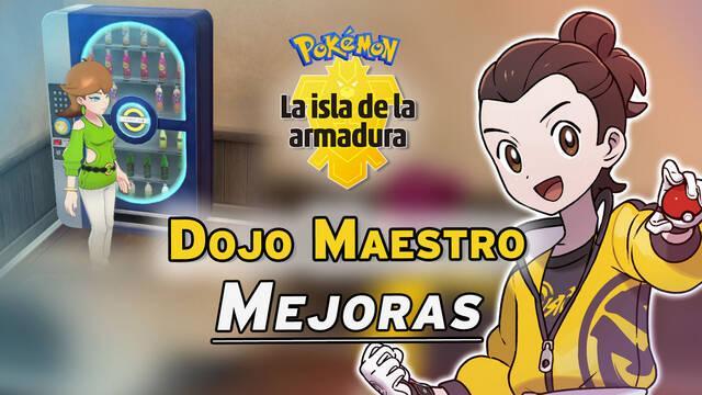 TODAS las mejoras del Dojo Maestro de Pokémon: Isla de la Armadura