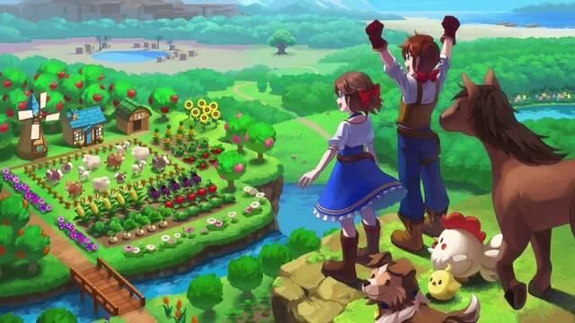Harvest Moon New World Gameplay Trailer Switch