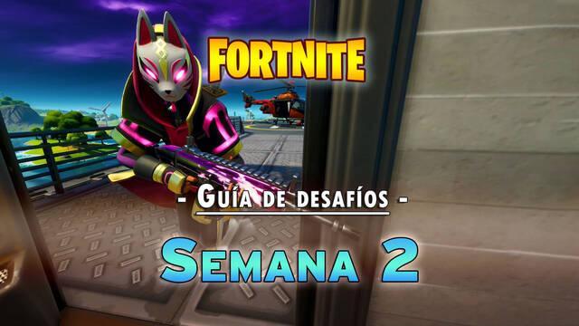Fortnite temporada 3: Guía de desafíos Semana 2 - Solución y objetivos