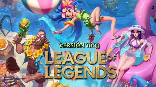 League of Legends v10.13: Llegan los aspectos fiesta en la piscina y más cambios