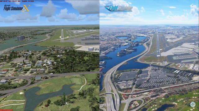Microsof Flight Simulator y las comparaciones con el juego anterior