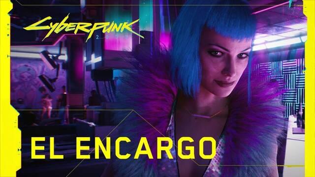 Cyberpunk 2077 tiene nuevo tráiler con voces en castellano.