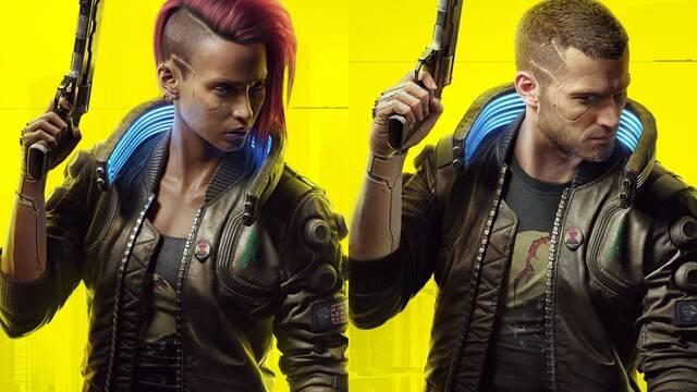 Opciones de personalización de Cyberpunk 2077.