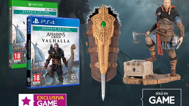 GAME y las ediciones de AC: Valhalla